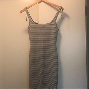 Tank Dress with Stripes